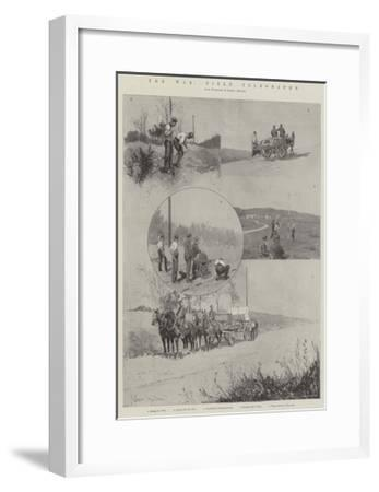 The War, Field Telegraphy-Joseph Holland Tringham-Framed Giclee Print