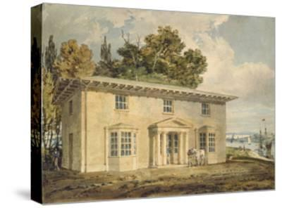 The Penrhyn Arms at Port Penrhyn, C. 1797 - 1798 (Watercolour with Pen and Brown Ink)-J^ M^ W^ Turner-Stretched Canvas Print