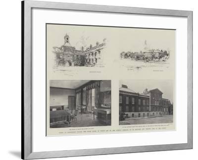 Views of Kensington Palace-Joseph Holland Tringham-Framed Giclee Print