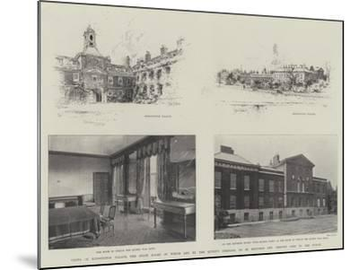 Views of Kensington Palace-Joseph Holland Tringham-Mounted Giclee Print
