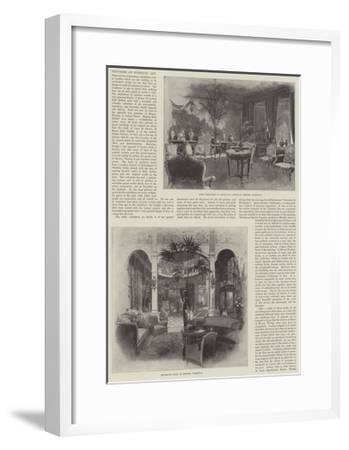 Progress of Domestic Art-Joseph Holland Tringham-Framed Giclee Print