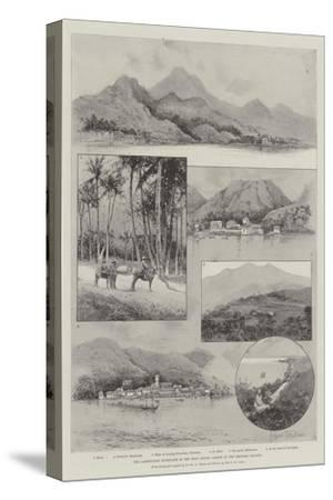 The Lamentable Hurricane in the West Indies, Scenes in the Leeward Islands-Joseph Holland Tringham-Stretched Canvas Print