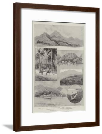 The Lamentable Hurricane in the West Indies, Scenes in the Leeward Islands-Joseph Holland Tringham-Framed Giclee Print