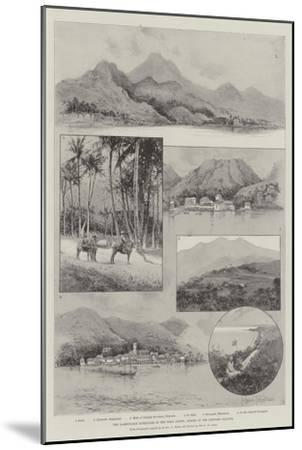 The Lamentable Hurricane in the West Indies, Scenes in the Leeward Islands-Joseph Holland Tringham-Mounted Giclee Print
