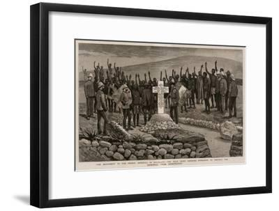 The Monument to the Prince Imperial in Zululand-Joseph Nash-Framed Giclee Print
