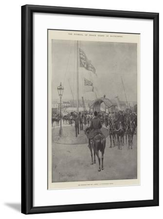 The Funeral of Prince Henry of Battenberg, the Procession from the Alberta to Whippingham Church-Joseph Holland Tringham-Framed Giclee Print