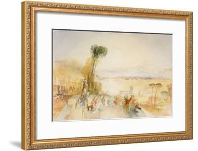 Lake of Thun, C.1845-51-J^ M^ W^ Turner-Framed Giclee Print