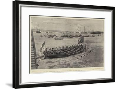 The Royal Colonial Tour-Joseph Nash-Framed Giclee Print