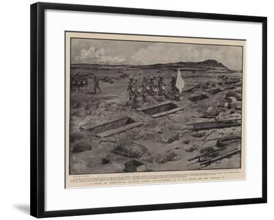 A Scene of Desolation, Cronje's Laager at Paardeberg as it Was When Our Men Entered It-Joseph Nash-Framed Giclee Print