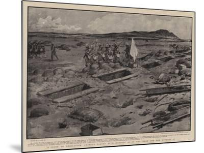 A Scene of Desolation, Cronje's Laager at Paardeberg as it Was When Our Men Entered It-Joseph Nash-Mounted Giclee Print