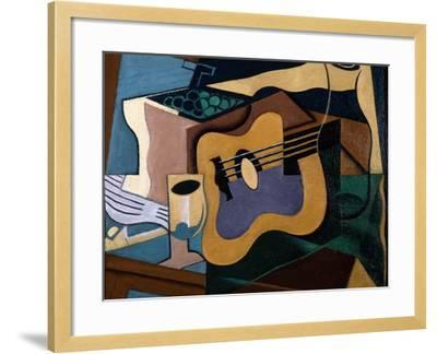 Still Life with Guitar, October-November 1920-Juan Gris-Framed Giclee Print