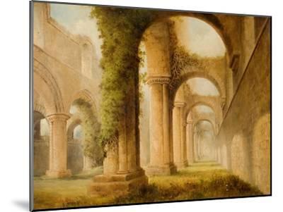 Kirkstall Abbey-Joseph Skelton-Mounted Giclee Print