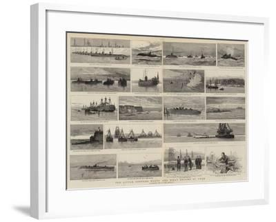 Ten Little Torpedo Boats and What Became of Them-Joseph Nash-Framed Giclee Print