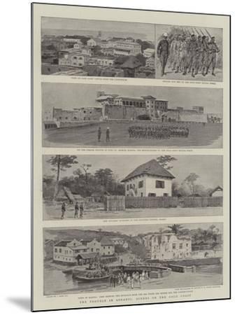 The Trouble in Ashanti, Scenes on the Gold Coast-Joseph Nash-Mounted Giclee Print