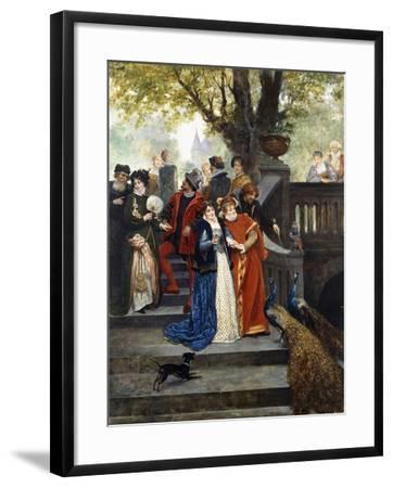 In the Park; Dans Le Parc-Jules Arsene Garnier-Framed Giclee Print