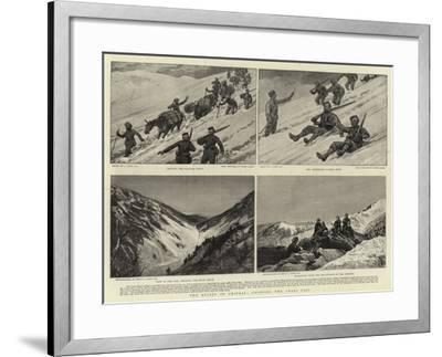 The Relief of Chitral, Crossing the Loari Pass-Joseph Nash-Framed Giclee Print