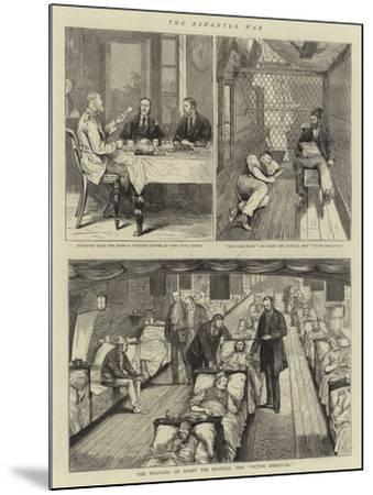 The Ashantee War-Joseph Nash-Mounted Giclee Print