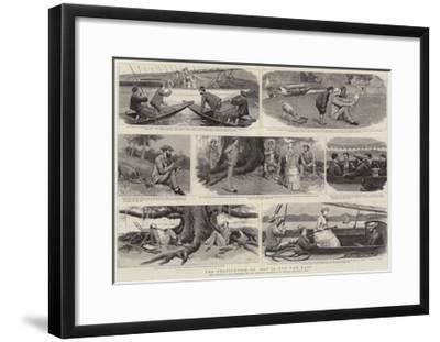 The Cultivation of Art in the Far East-Joseph Nash-Framed Giclee Print