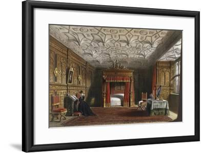 Inlaid Chamber, Sizergh, Westmoreland, 1849-Joseph Nash Elder-Framed Giclee Print