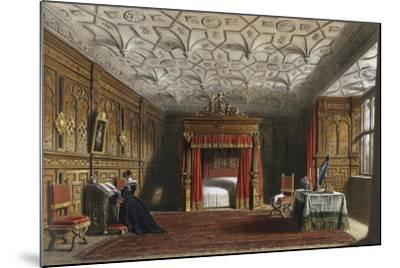 Inlaid Chamber, Sizergh, Westmoreland, 1849-Joseph Nash Elder-Mounted Giclee Print