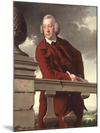 Mr. Robert Gwillym, 1766-Joseph Wright of Derby-Mounted Giclee Print