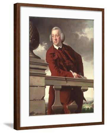 Mr. Robert Gwillym, 1766-Joseph Wright of Derby-Framed Giclee Print