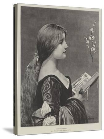 Venetian Evensong-Jules Joseph Lefebvre-Stretched Canvas Print