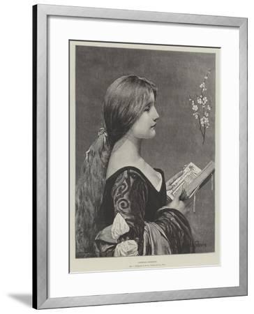 Venetian Evensong-Jules Joseph Lefebvre-Framed Giclee Print