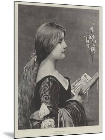 Venetian Evensong-Jules Joseph Lefebvre-Mounted Giclee Print