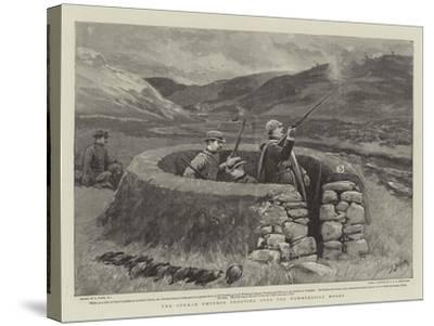 The German Emperor Shooting over the Wemmersgill Moors-Joseph Nash-Stretched Canvas Print