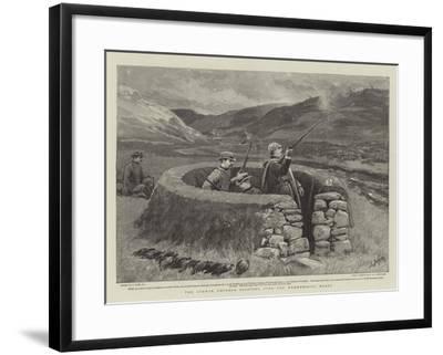 The German Emperor Shooting over the Wemmersgill Moors-Joseph Nash-Framed Giclee Print