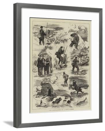 The Tribulations of a Trout-Fisher-Joseph Nash-Framed Giclee Print