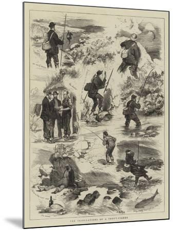 The Tribulations of a Trout-Fisher-Joseph Nash-Mounted Giclee Print