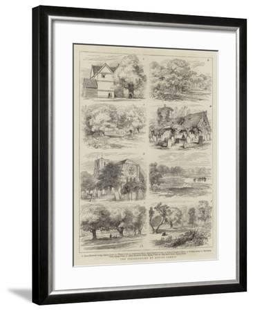 The Preservation of Epping Forest-Joseph Nash-Framed Giclee Print