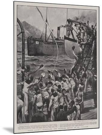 Good Luck!, Homeward and Outward Bound at St Vincent-Joseph Nash-Mounted Giclee Print