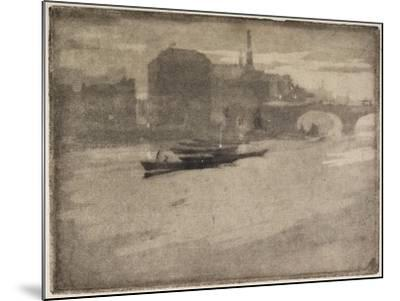 The Thames, 1894-Joseph Pennell-Mounted Giclee Print