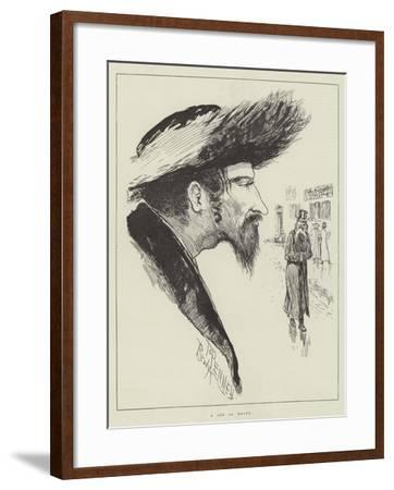 The Jew at Home-Joseph Pennell-Framed Giclee Print
