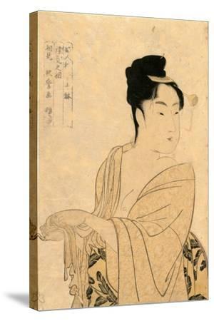 Uwaki No So-Kitagawa Utamaro-Stretched Canvas Print