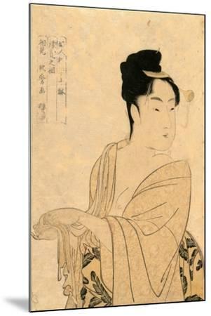Uwaki No So-Kitagawa Utamaro-Mounted Giclee Print