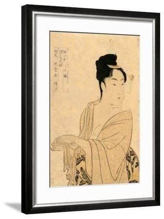 Uwaki No So-Kitagawa Utamaro-Framed Giclee Print