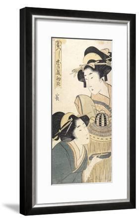 Act 1-Kitagawa Utamaro-Framed Giclee Print