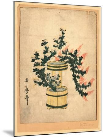 Akikusa No Rikka-Kitagawa II Utamaro-Mounted Giclee Print