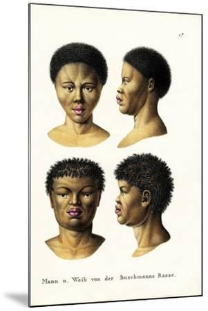 Bushmen, 1824-Karl Joseph Brodtmann-Mounted Giclee Print