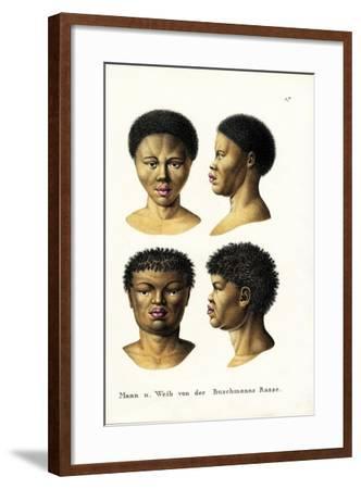 Bushmen, 1824-Karl Joseph Brodtmann-Framed Giclee Print