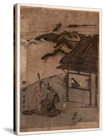 Chofu No Tamagawa-Kitagawa Utamaro-Stretched Canvas Print