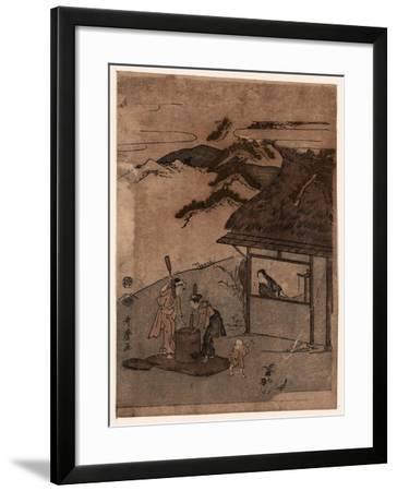 Chofu No Tamagawa-Kitagawa Utamaro-Framed Giclee Print