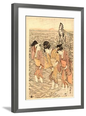 Futamigaura-Kitagawa Utamaro-Framed Giclee Print