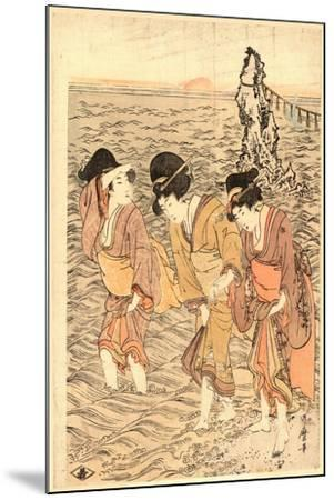 Futamigaura-Kitagawa Utamaro-Mounted Giclee Print