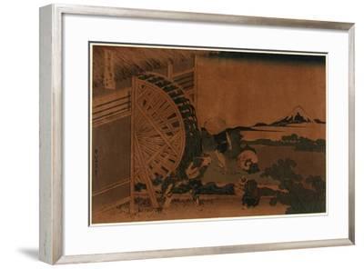 Onden No Suisha-Katsushika Hokusai-Framed Giclee Print