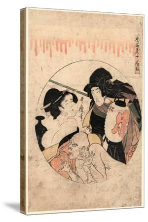 Juichidanme-Kitagawa Utamaro-Stretched Canvas Print